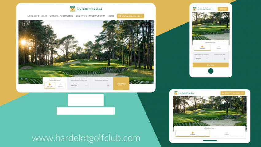 The Golf d'Hardelot website has a new look! - Open Golf Club