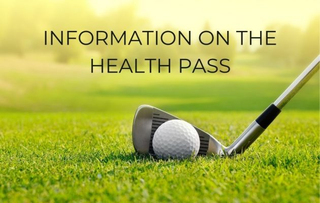 Information on the health pass in the Golf Hardelot